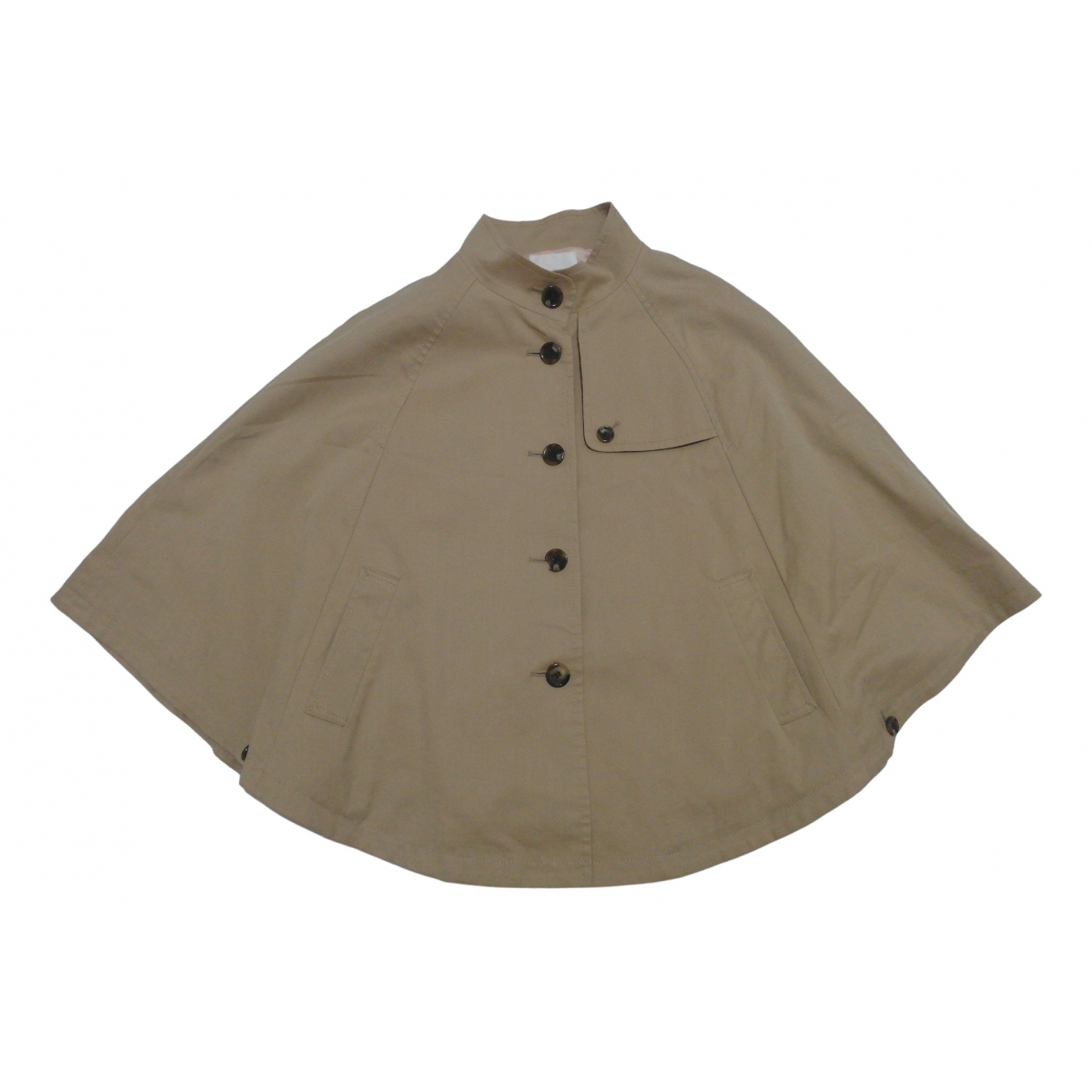 Non Signé / Unsigned \N Beige jacket for Women 2 0-5