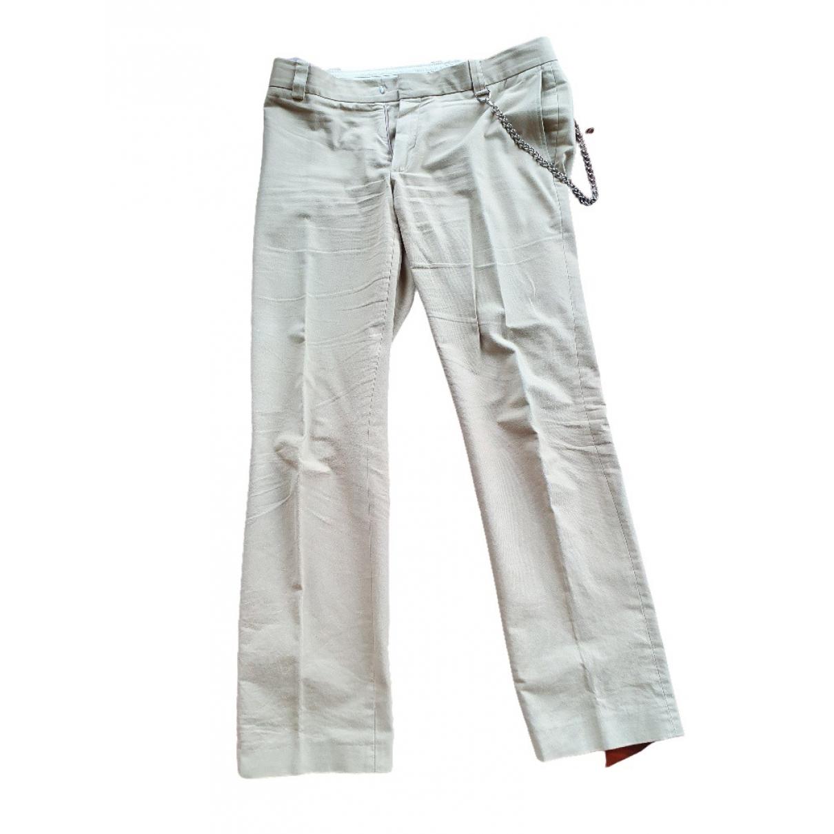 Paul & Joe \N Beige Cotton Trousers for Men M International