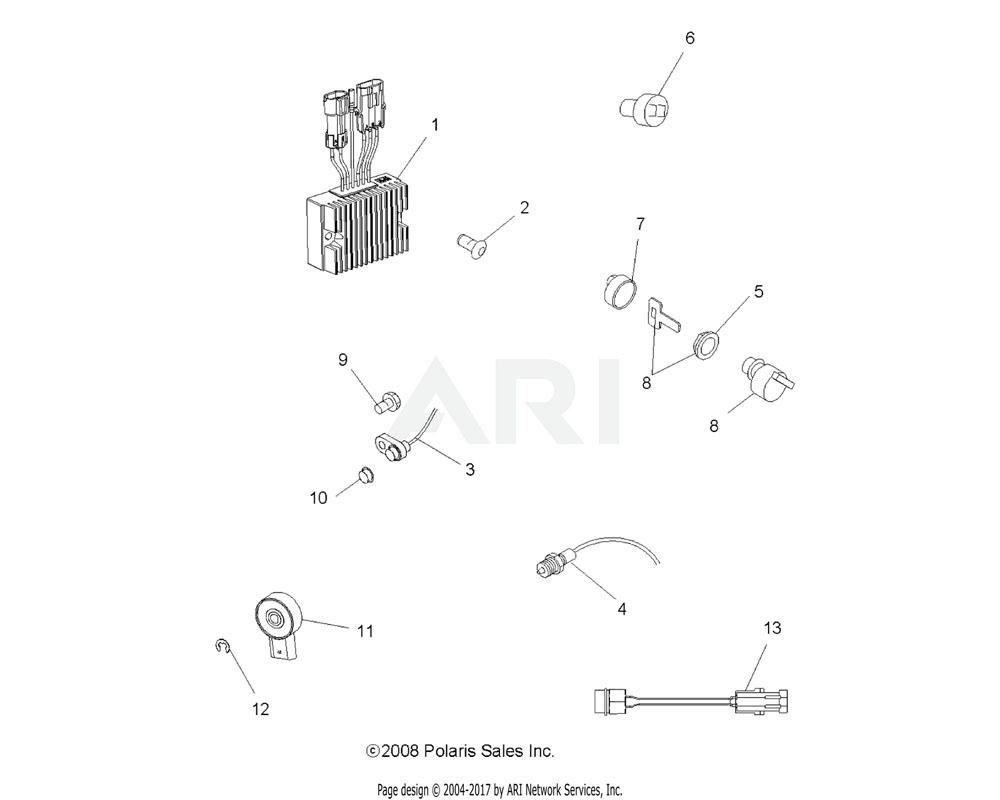 Polaris OEM 4010808 Sensor, Thermal Harness | [AC]