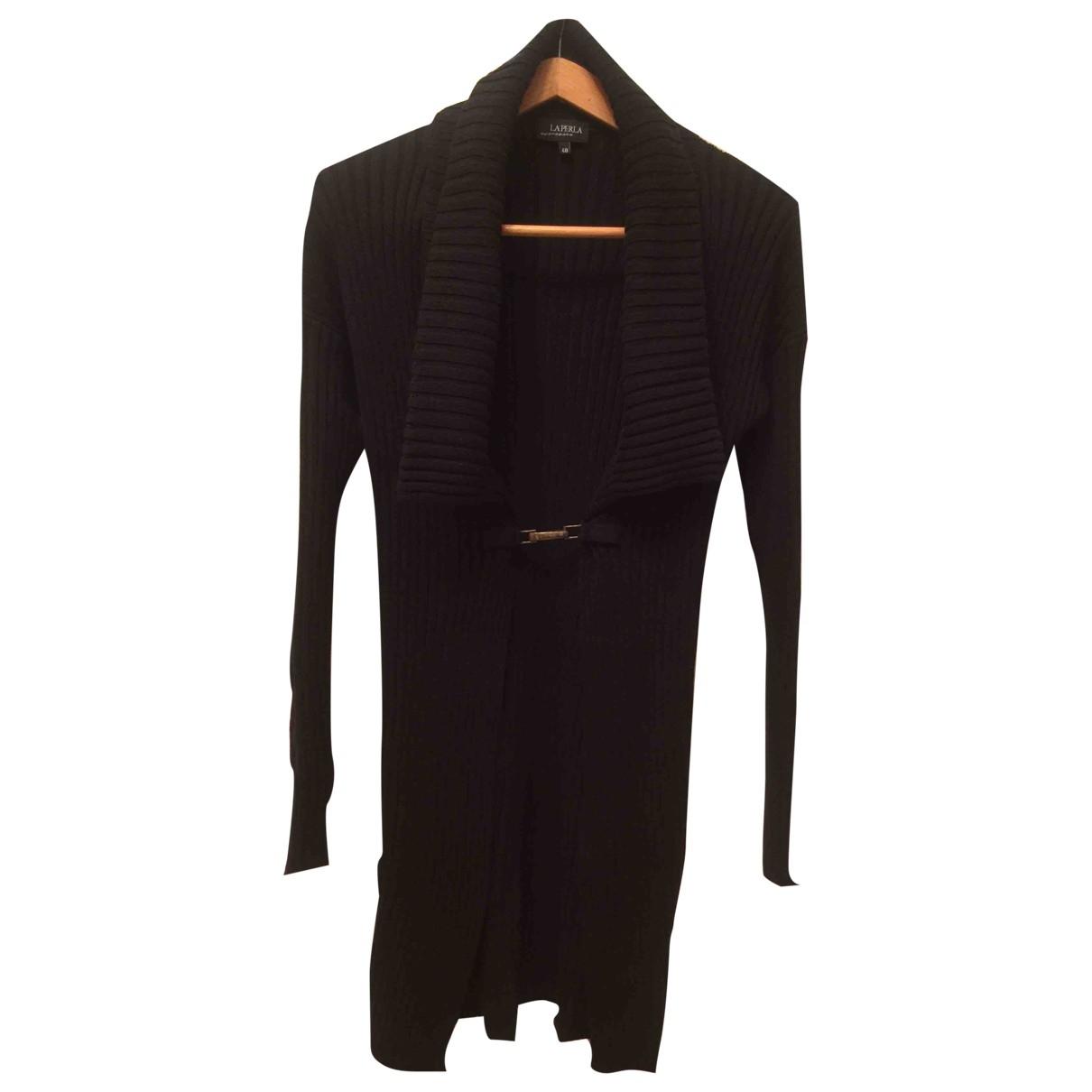 La Perla - Pull   pour femme en coton - noir