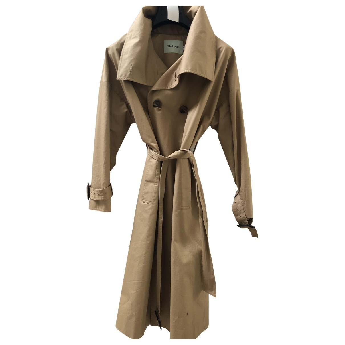 Non Signé / Unsigned \N Beige Cotton Trench coat for Women S International