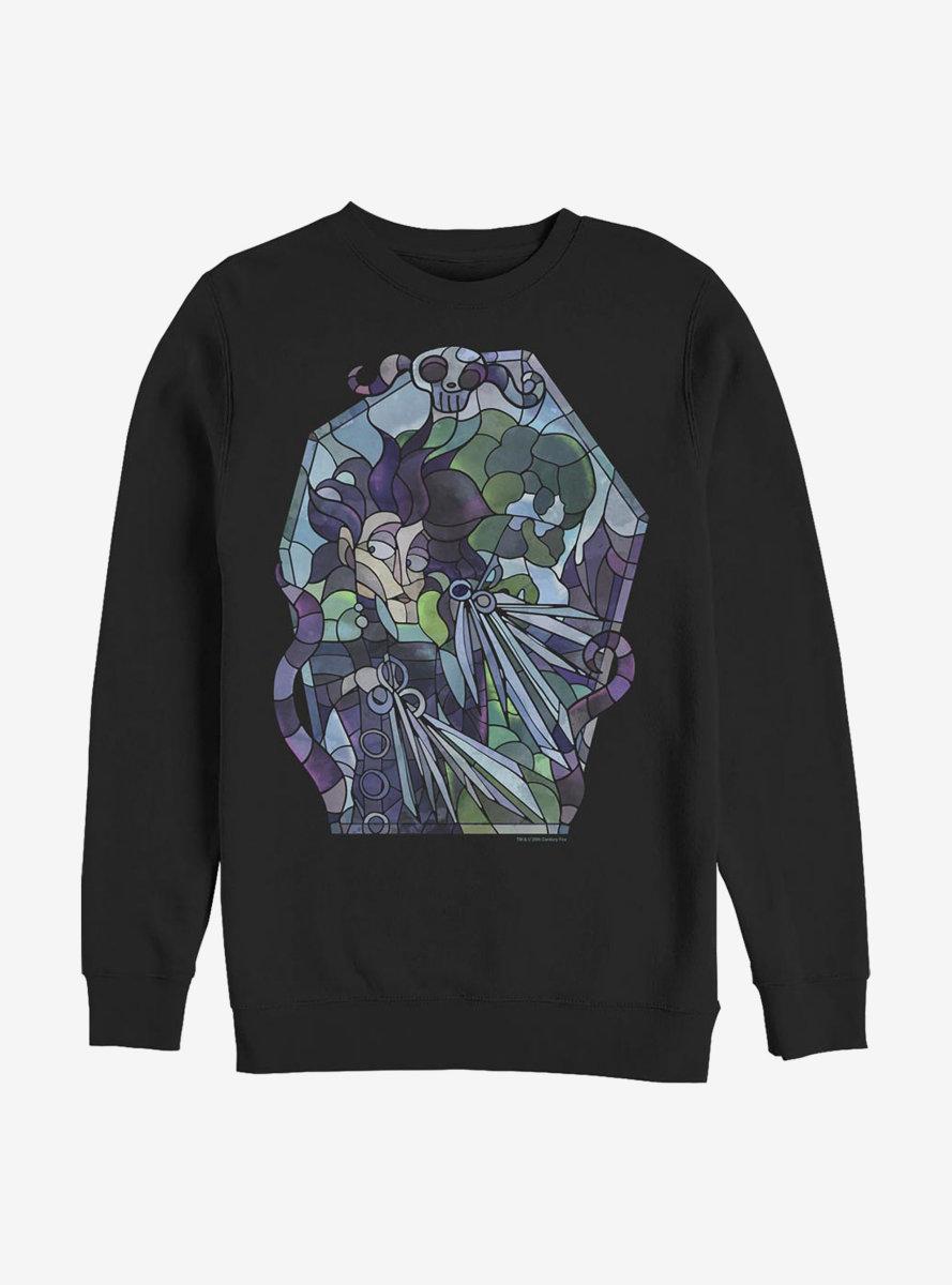 Edward Scissorhands Edward Stained Glass Sweatshirt