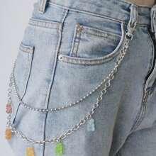 Clear Bear Chain Belt
