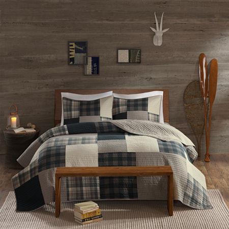 Woolrich Winter Hills Cotton 3-pc. Quilt Set, One Size , Beige