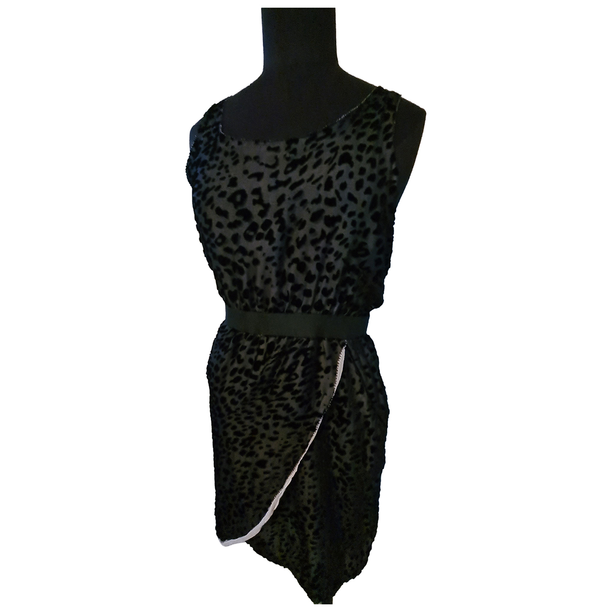 Maje Spring Summer 2019 Kleid in  Schwarz Polyester