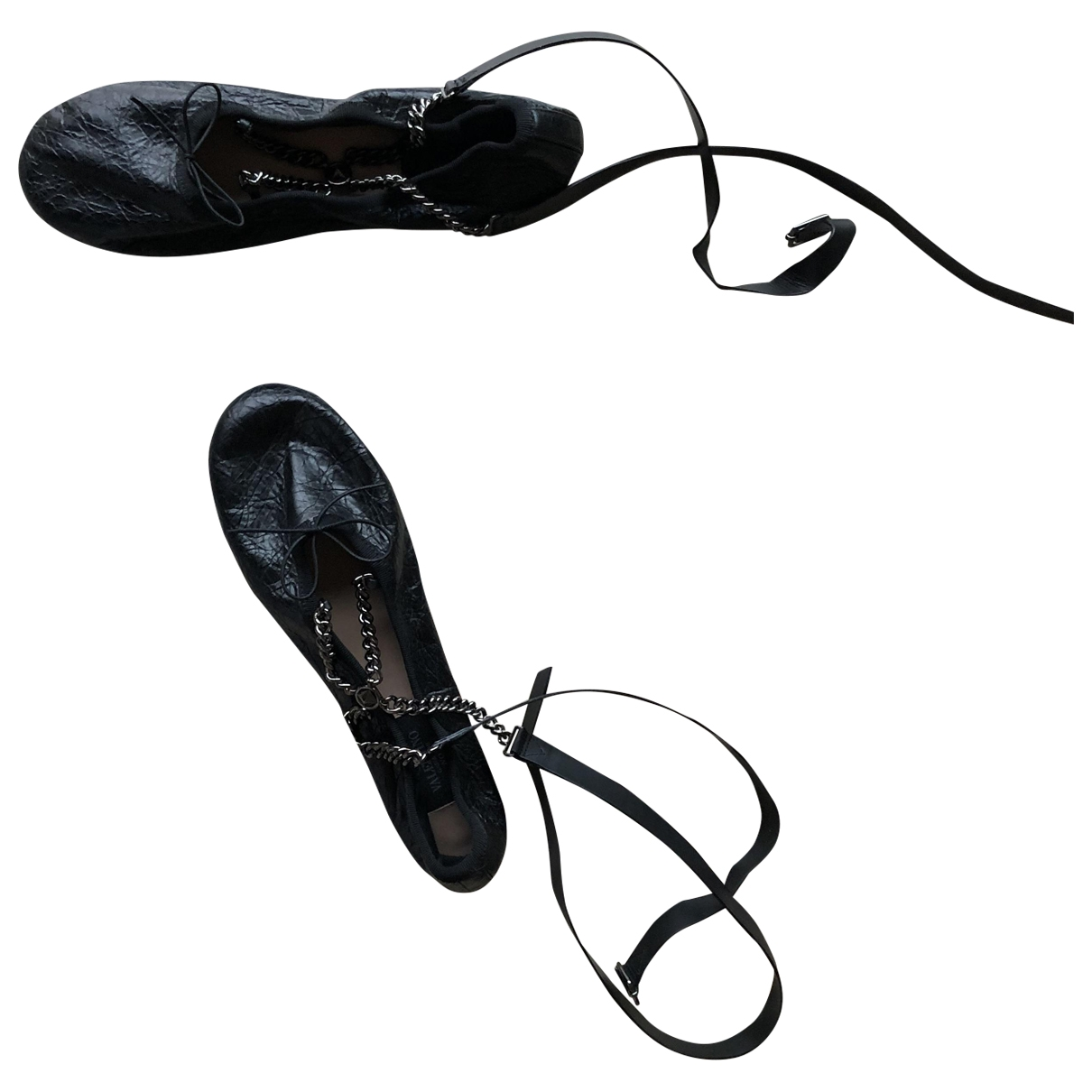 Bailarinas Rockstud de Cuero Valentino Garavani