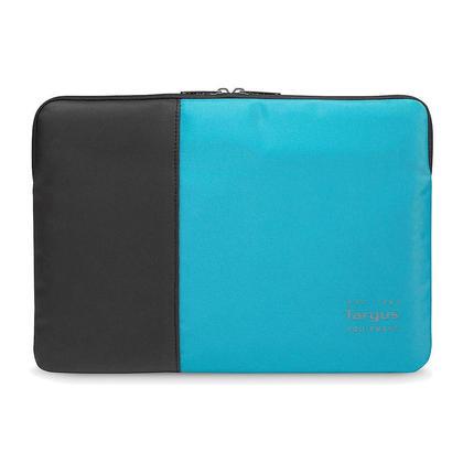 Targus Pulse Laptop Sleeve, Black/Atoll Blue - 15.6 inch