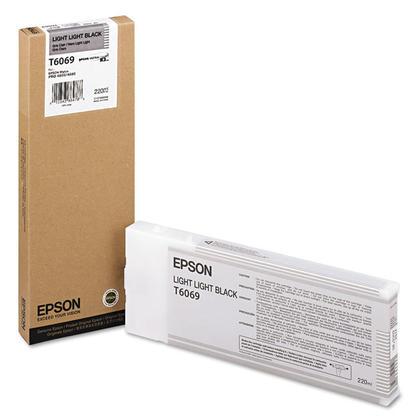 Epson T606900 cartouche d'encre originale noire extra clair