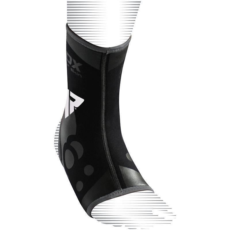 RDX A2 Chaussettes de Compression Chevilles Petite/Moyenne Noir Neoprene