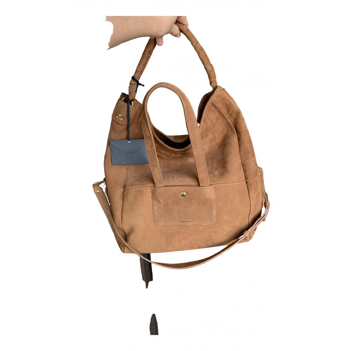 Jerome Dreyfuss \N Camel Suede handbag for Women \N