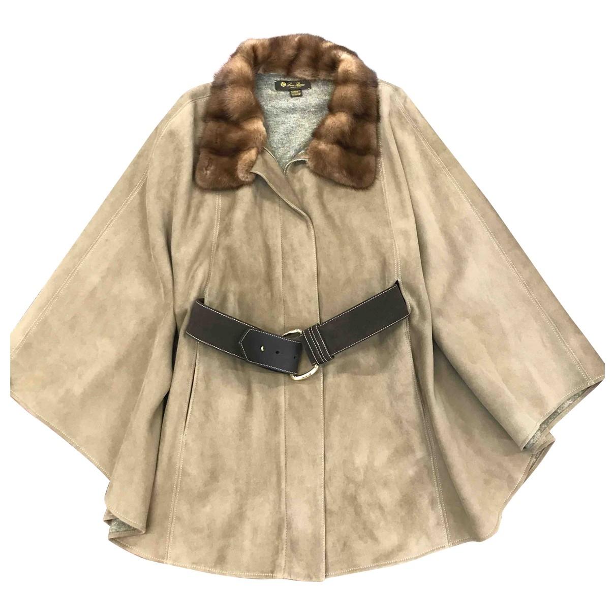 Loro Piana \N Beige Suede jacket for Women M
