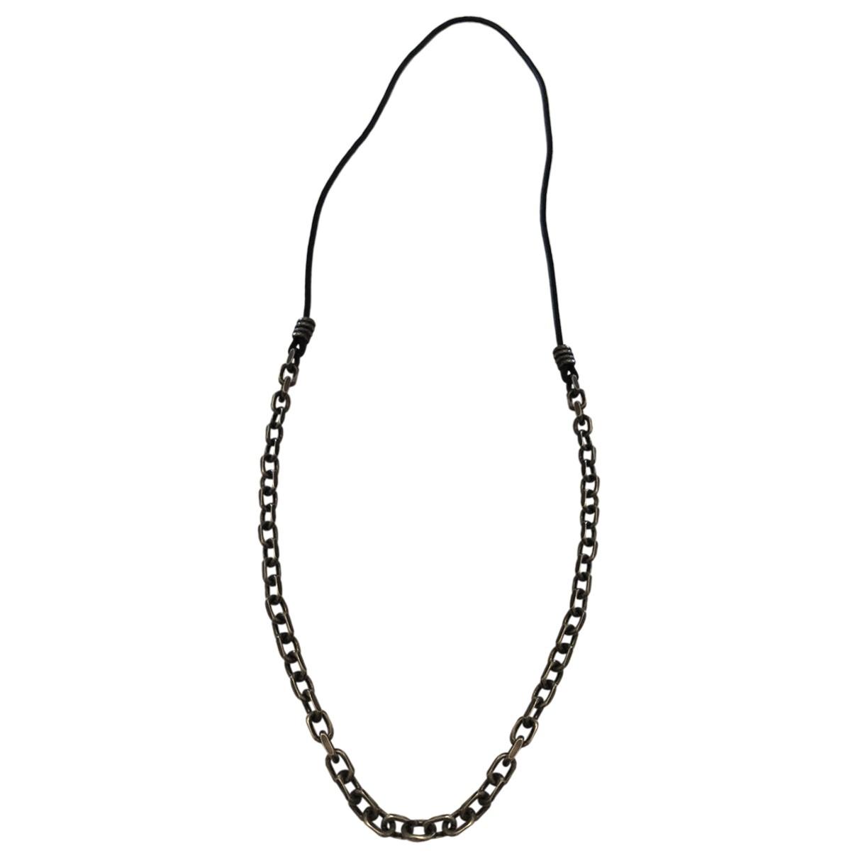 Bottega Veneta - Bijoux   pour homme en metal - noir