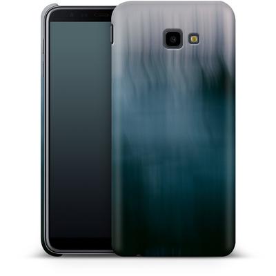 Samsung Galaxy J4 Plus Smartphone Huelle - Twilight Sea Abstract von Joy StClaire