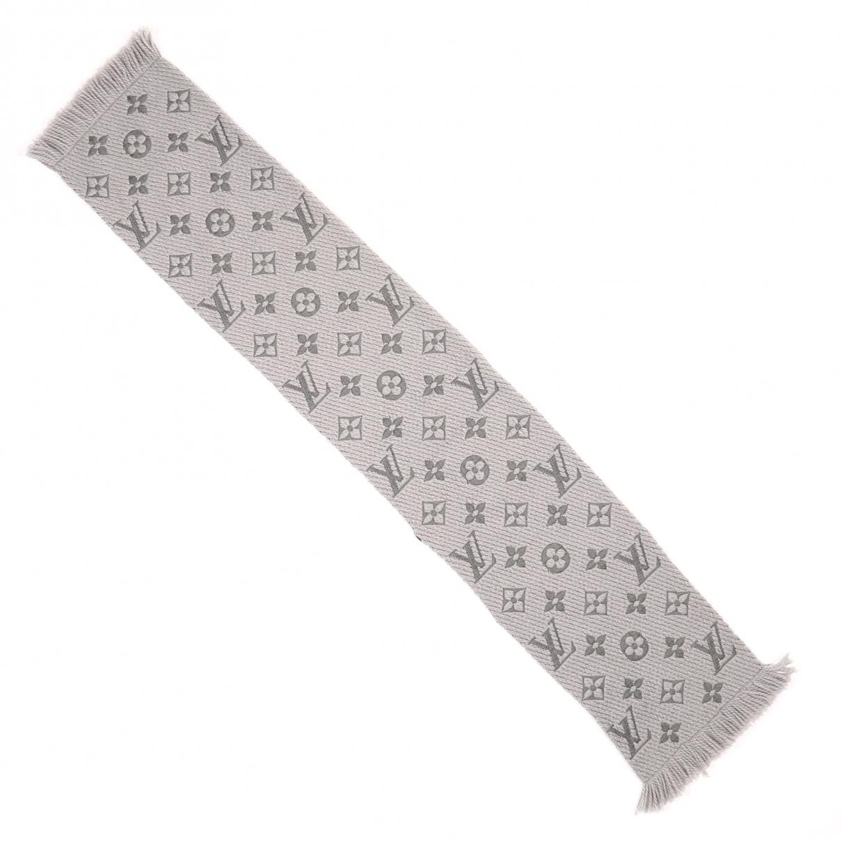 Louis Vuitton \N Grey scarf for Women \N