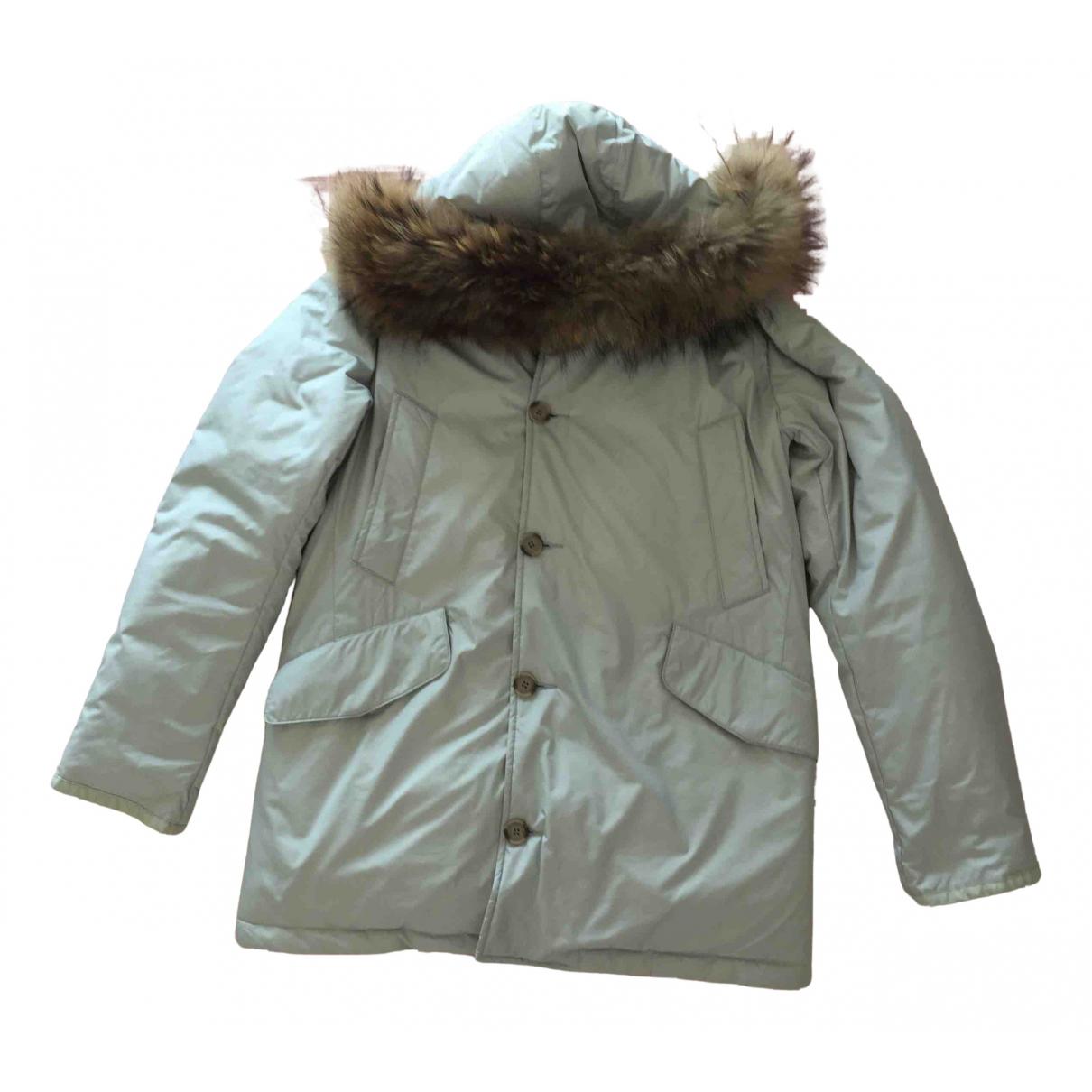 Woolrich N Grey coat for Women 44 IT