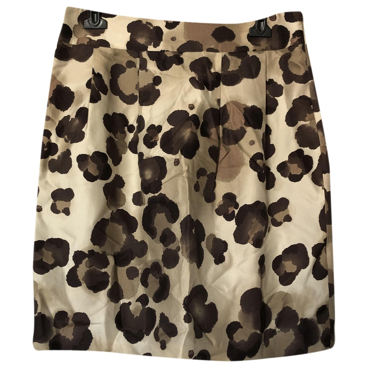 Moschino Cheap And Chic - Jupe   pour femme en soie - beige