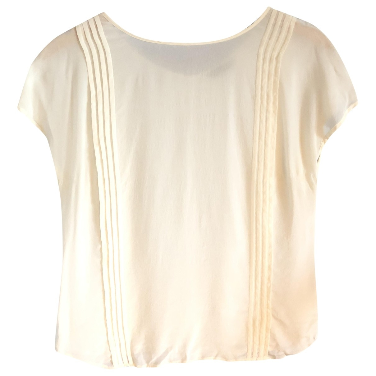 Massimo Dutti \N Ecru  top for Women 38 FR