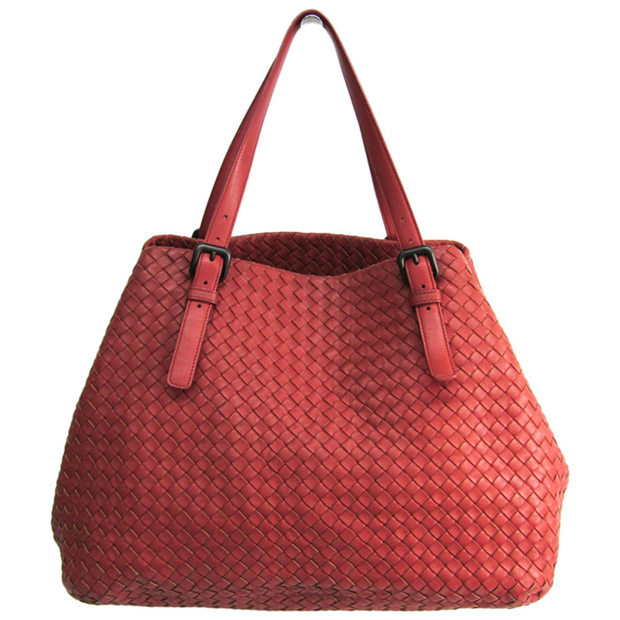 Bottega Veneta - Sac a main Fourre-Tout  pour femme en cuir - rose