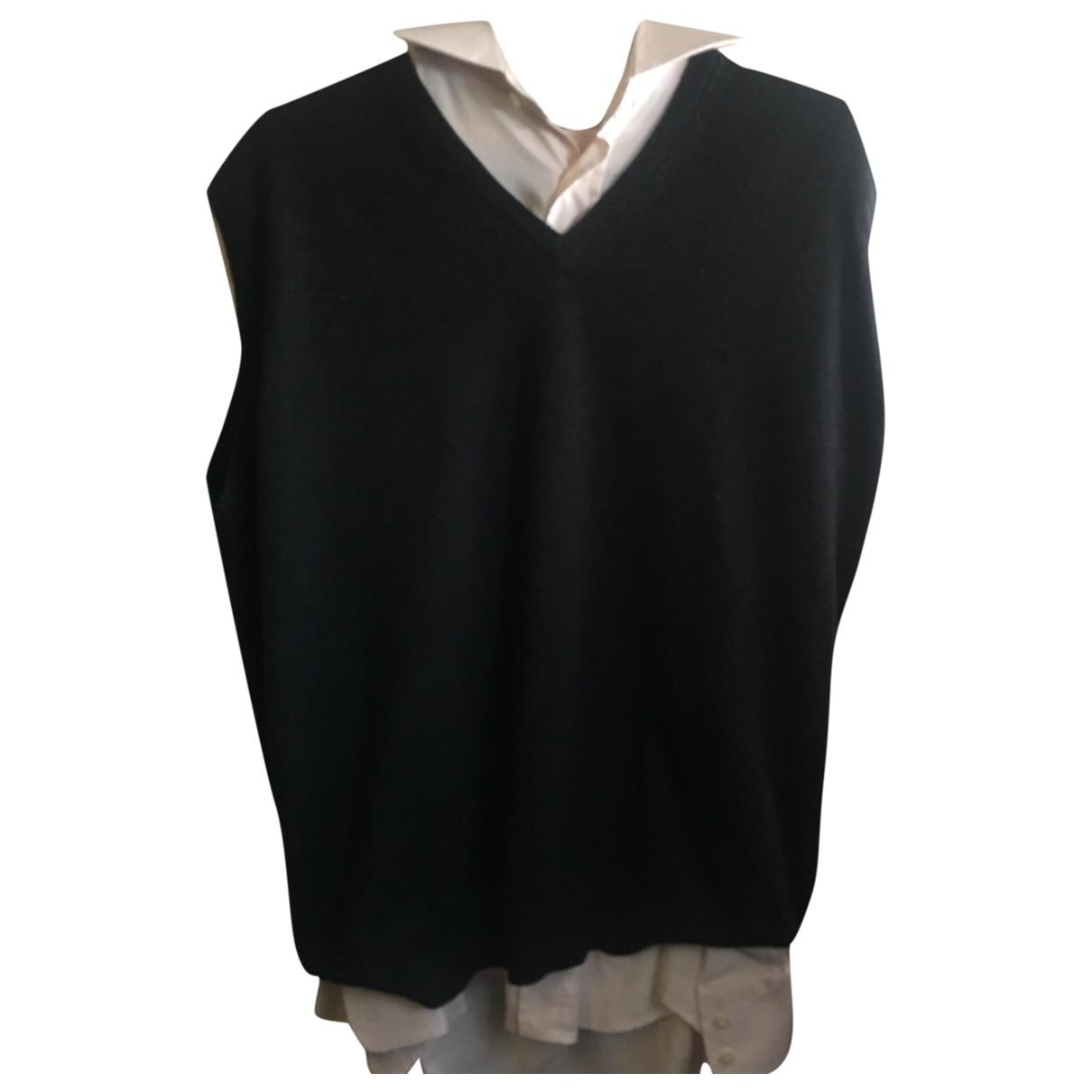 Pierre Cardin \N Pullover.Westen.Sweatshirts  in  Grau Wolle