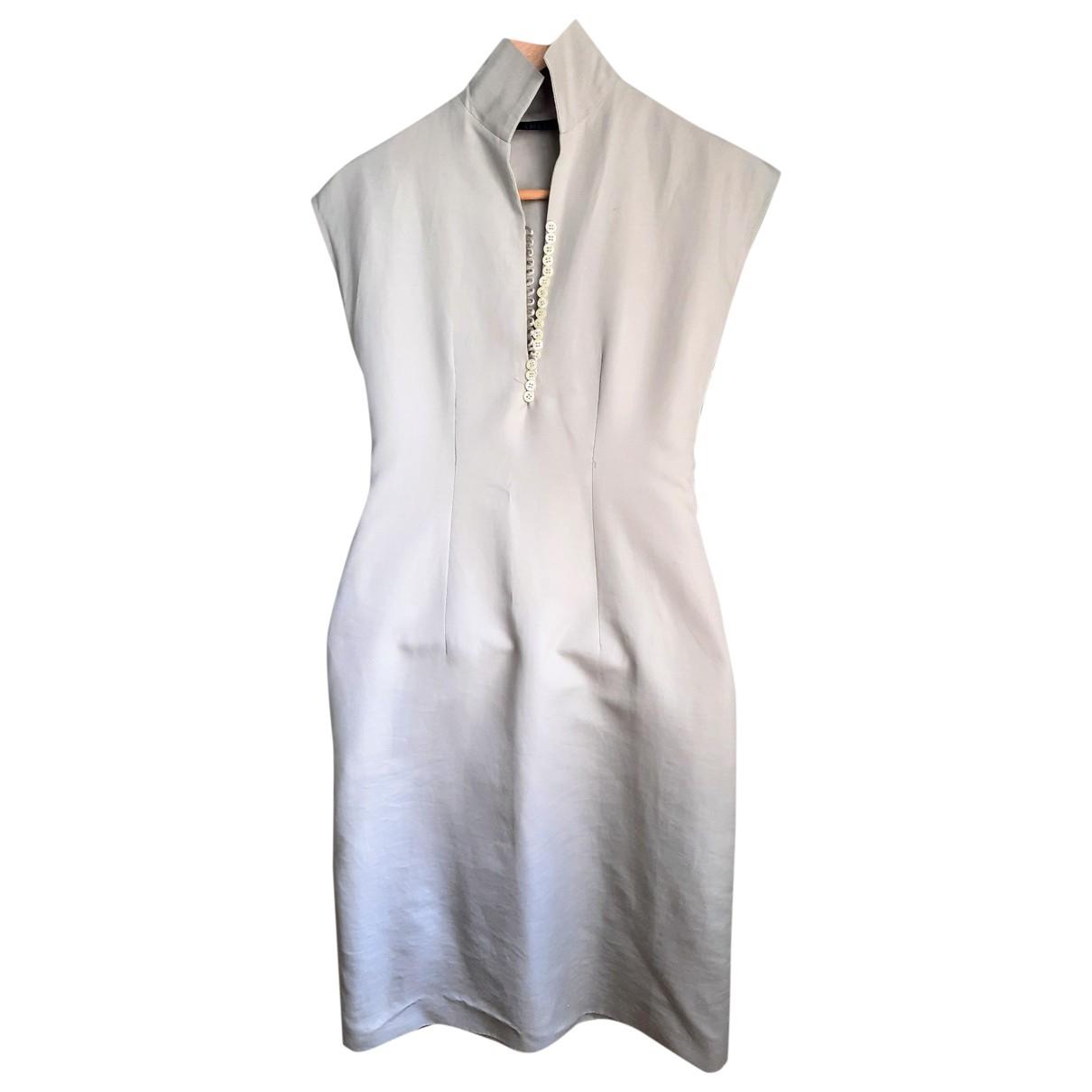 Aspesi - Robe   pour femme en coton - gris