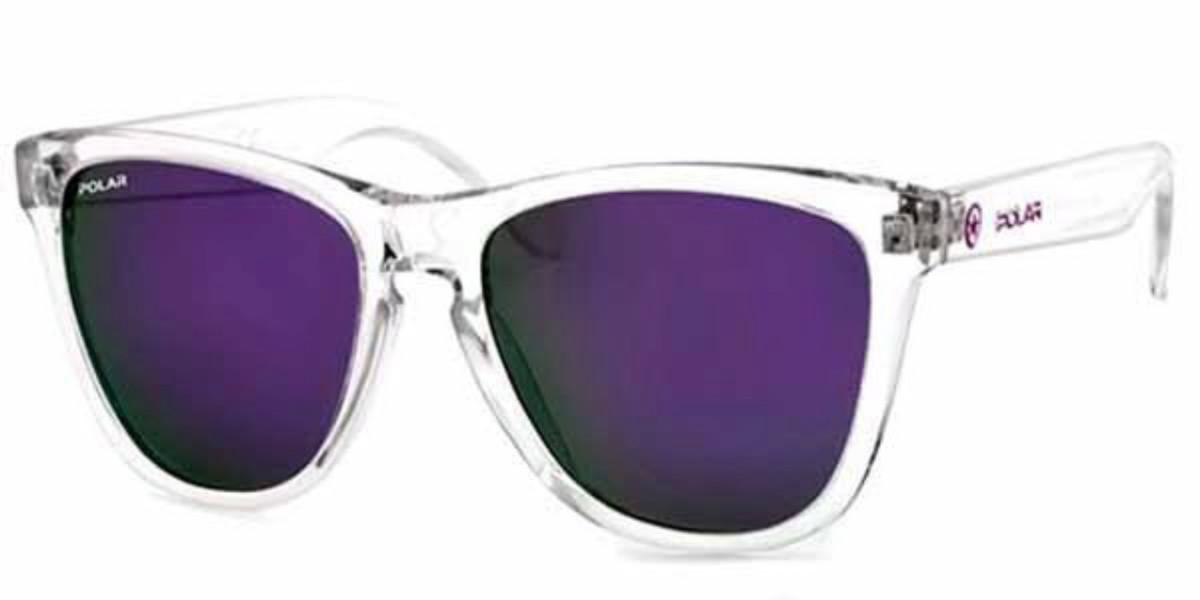 Polar PL 306 Polarized 25/p Men's Sunglasses Clear Size 53
