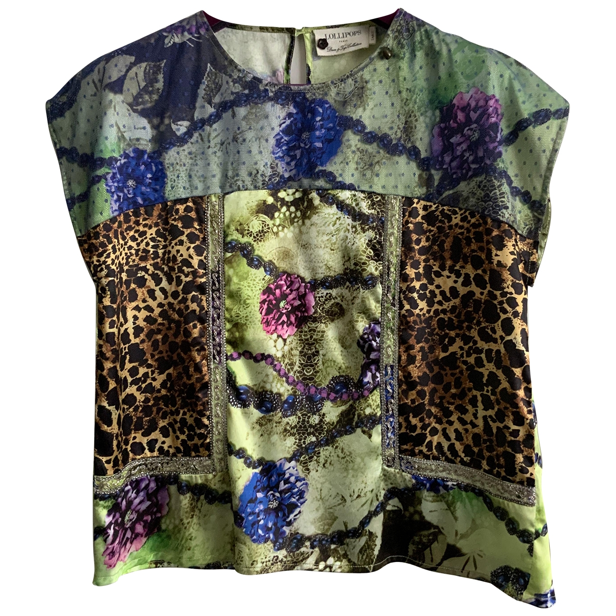 Non Signé / Unsigned \N Green  top for Women L International