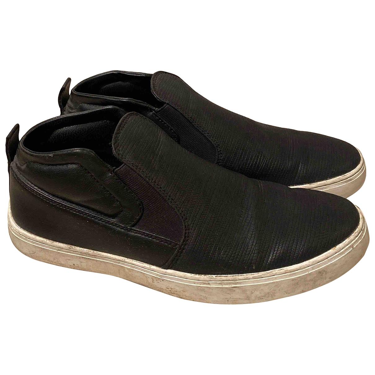 Zara - Baskets   pour homme en autre - noir