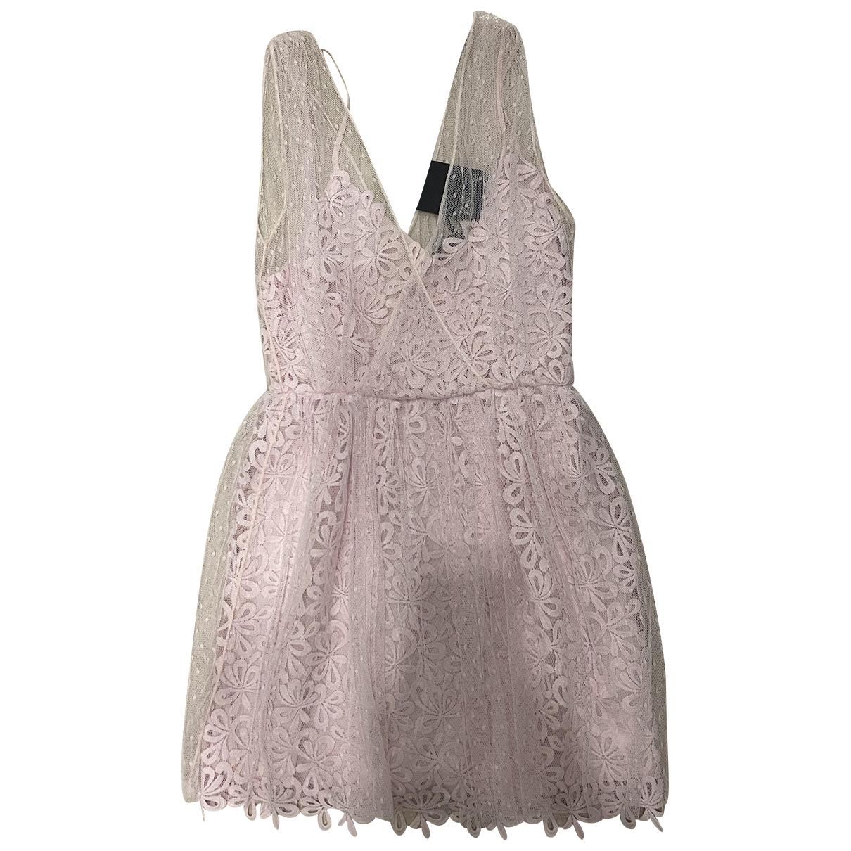 Ermanno Scervino \N Kleid in  Rosa Polyester