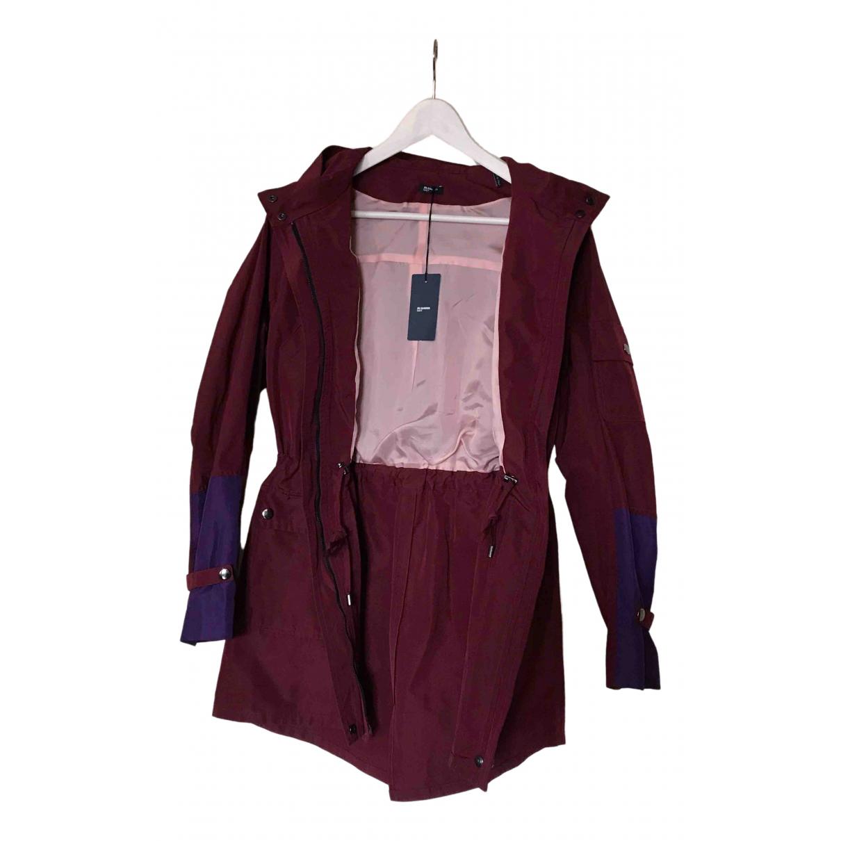 Jil Sander \N Burgundy coat for Women 38 FR