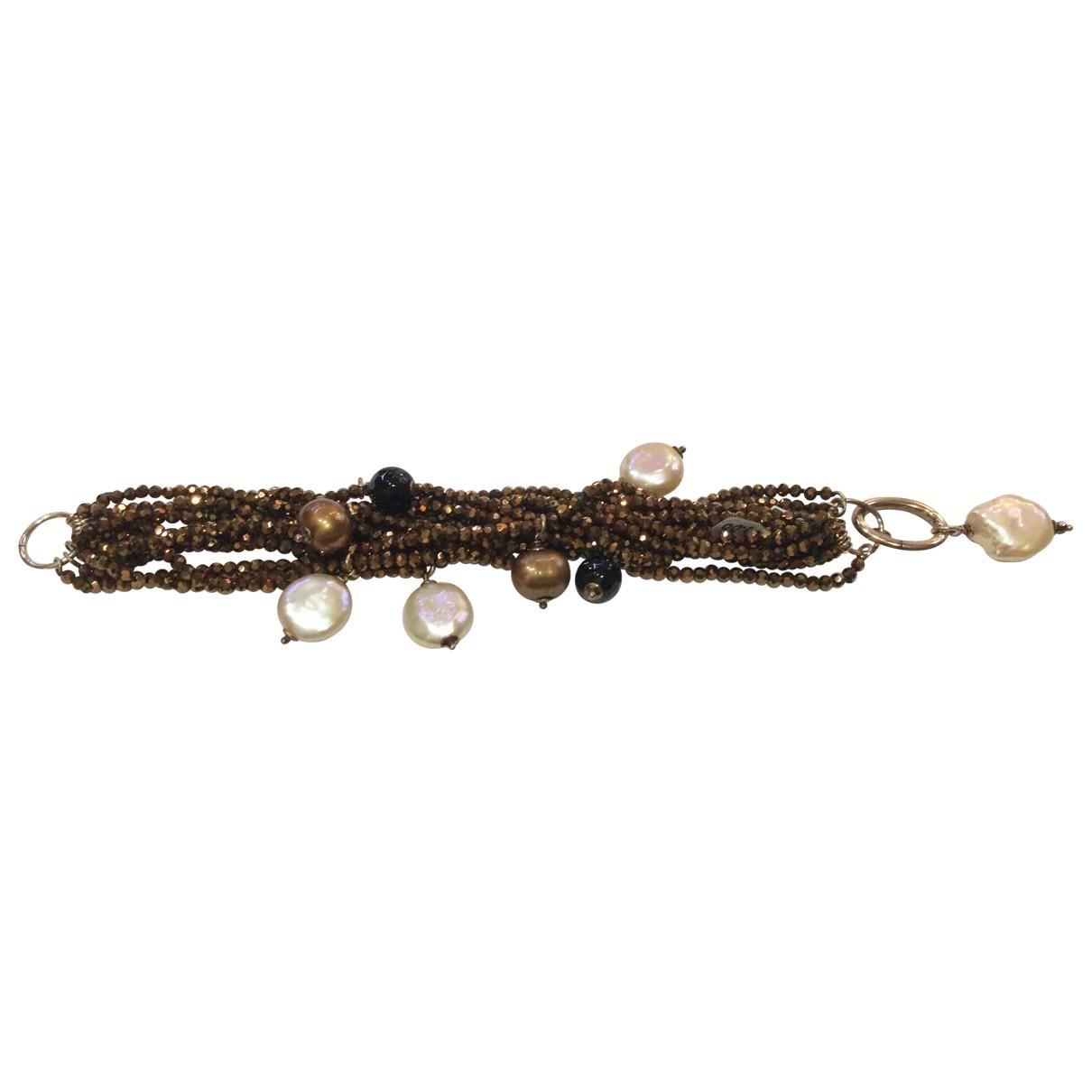 - Bracelet   pour femme en perles - multicolore