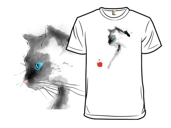 Blue-eyed Sumi Cat T Shirt