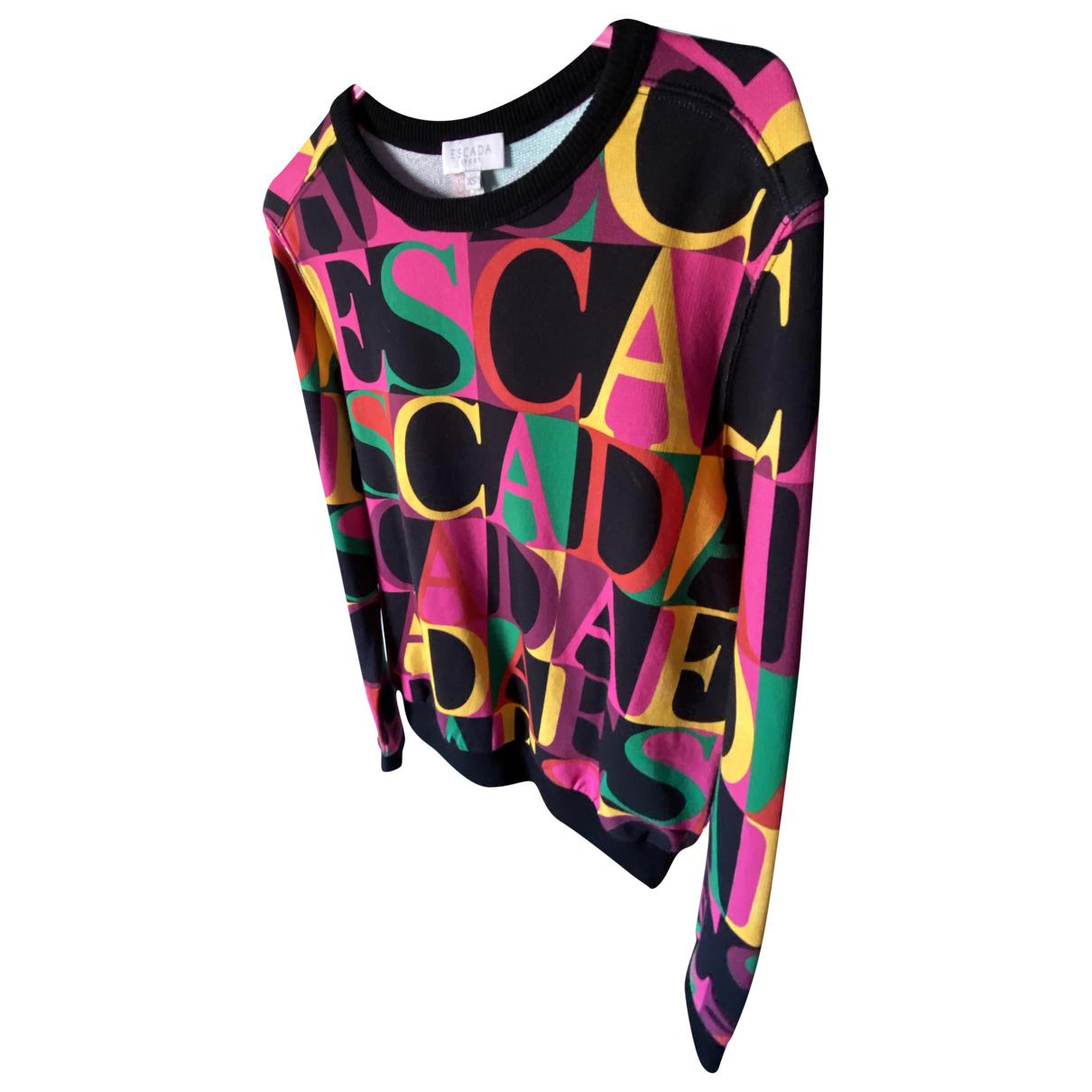 Escada N Multicolour Cotton Knitwear for Women XS International