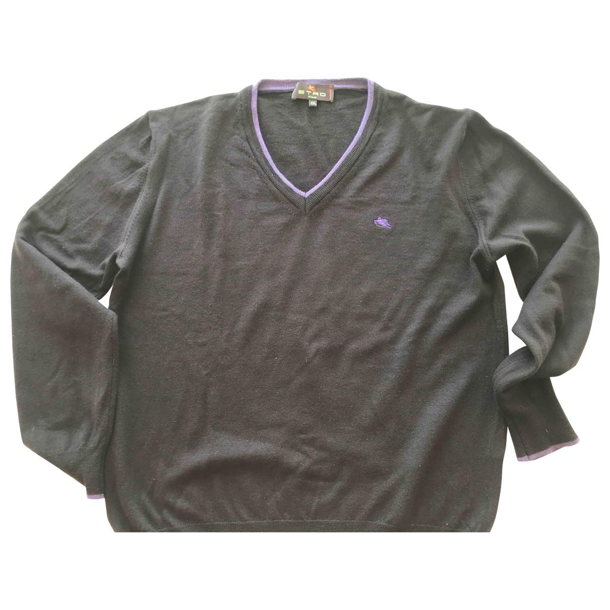 Etro \N Brown Wool Knitwear & Sweatshirts for Men L International