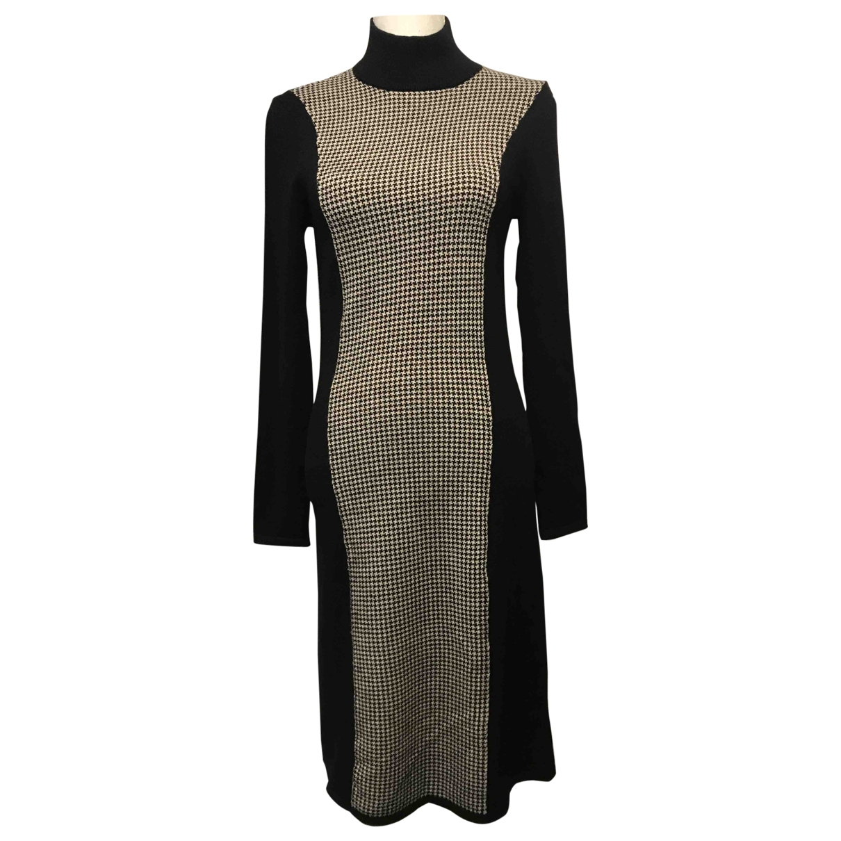 Ralph Lauren \N Kleid in  Grau Wolle