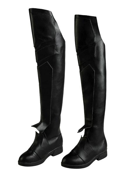 Milanoo Supergirl Reign Halloween Cosplay Shoes