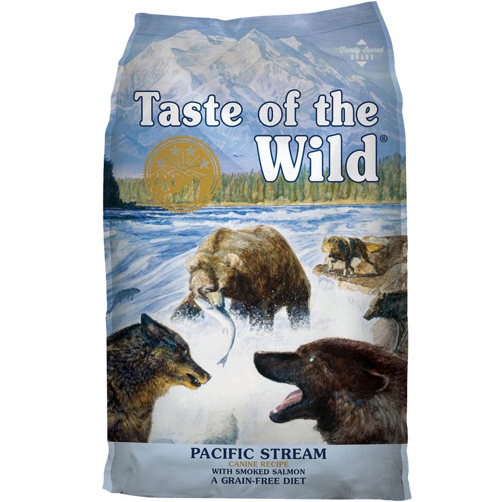 Taste of the Wild Pacific Stream Smoked Salmon Dog Food (28 lb)