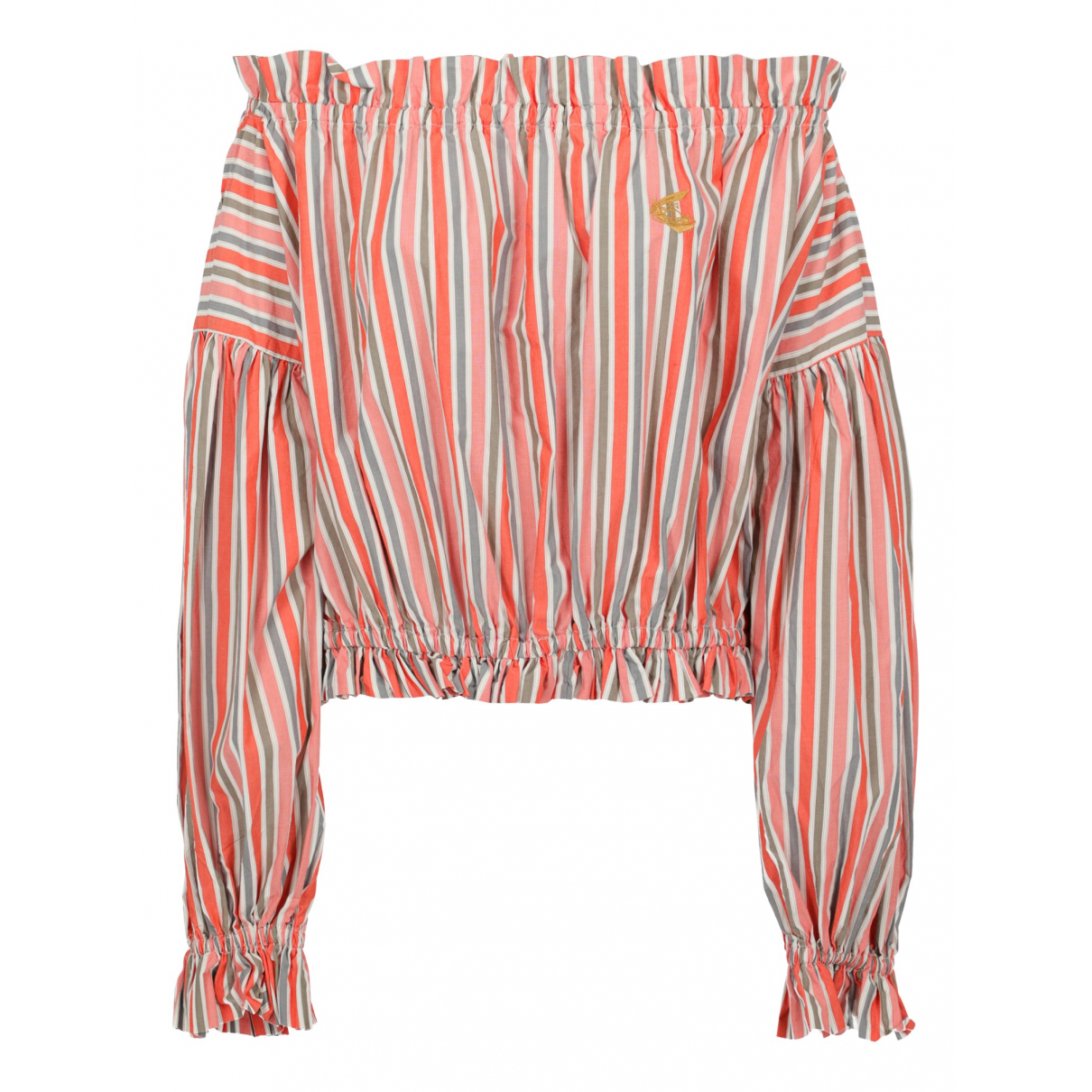 Vivienne Westwood Anglomania \N Orange Cotton  top for Women L International