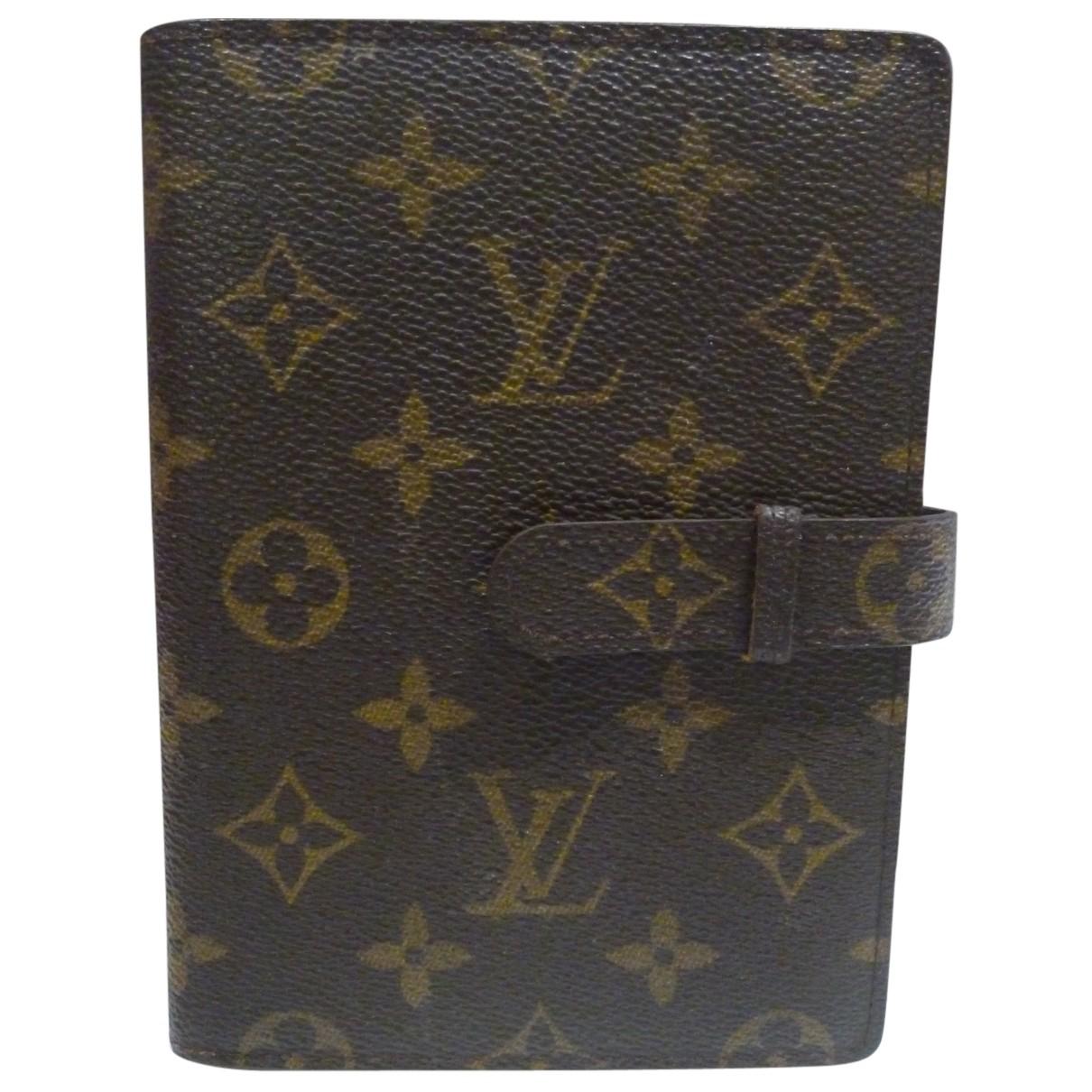 Louis Vuitton N Brown Cloth Home decor for Life & Living N