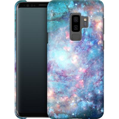 Samsung Galaxy S9 Plus Smartphone Huelle - Abstract Galaxy - Blue von Barruf