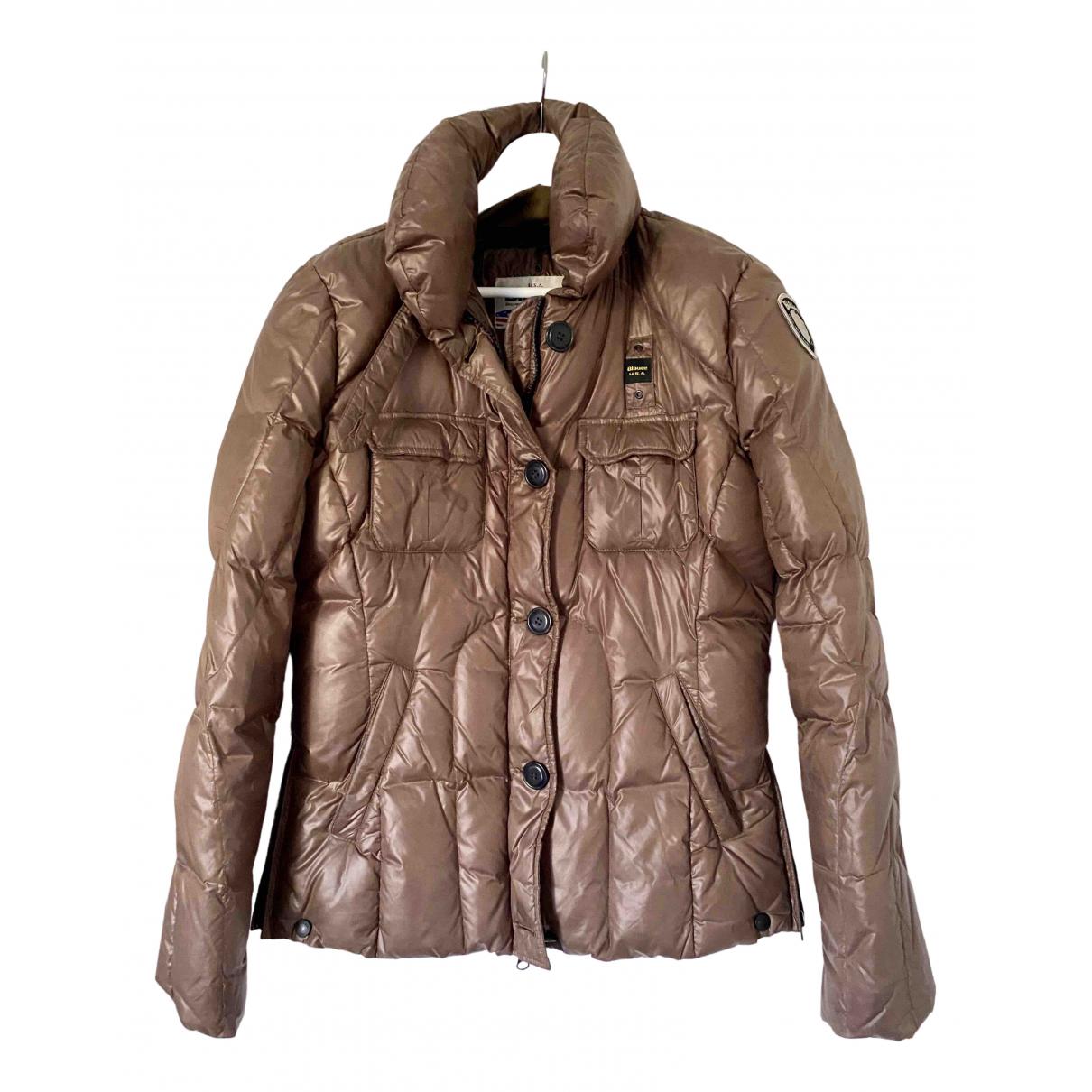 Blauer \N Brown jacket for Women XL International