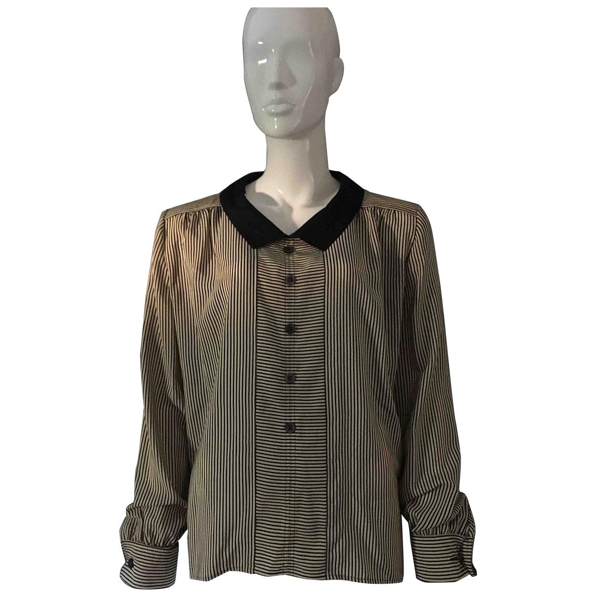 Valentino Garavani \N Navy Silk  top for Women 40 FR