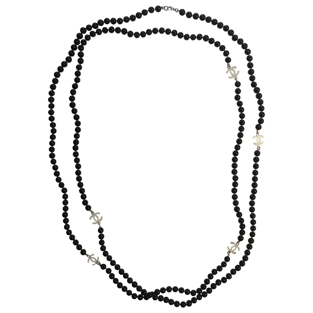 Collar largo CC de Perlas Chanel
