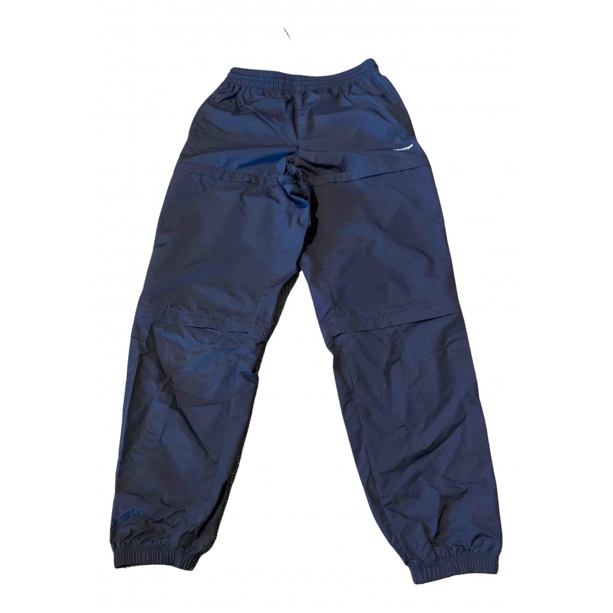 Balenciaga N Black Trousers for Men S International
