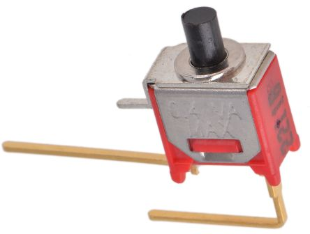 RS PRO Single Pole Single Throw (SPST) Momentary Push Button Switch, PCB, 32/50/125V ac