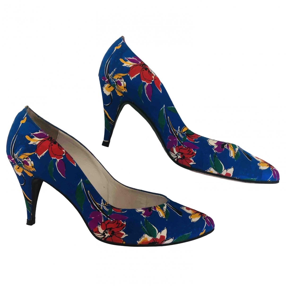 Stuart Weitzman - Escarpins   pour femme en toile - multicolore