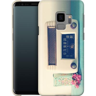 Samsung Galaxy S9 Smartphone Huelle - Retro Radio von Joy StClaire