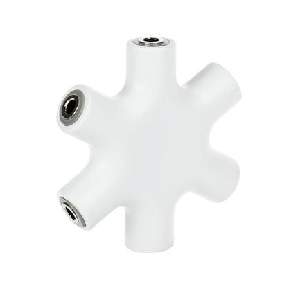 Répartiteur audio 3.5mm hub 5 sorties casque audio pour PC, MP3 & Smartphone - PrimeCables®