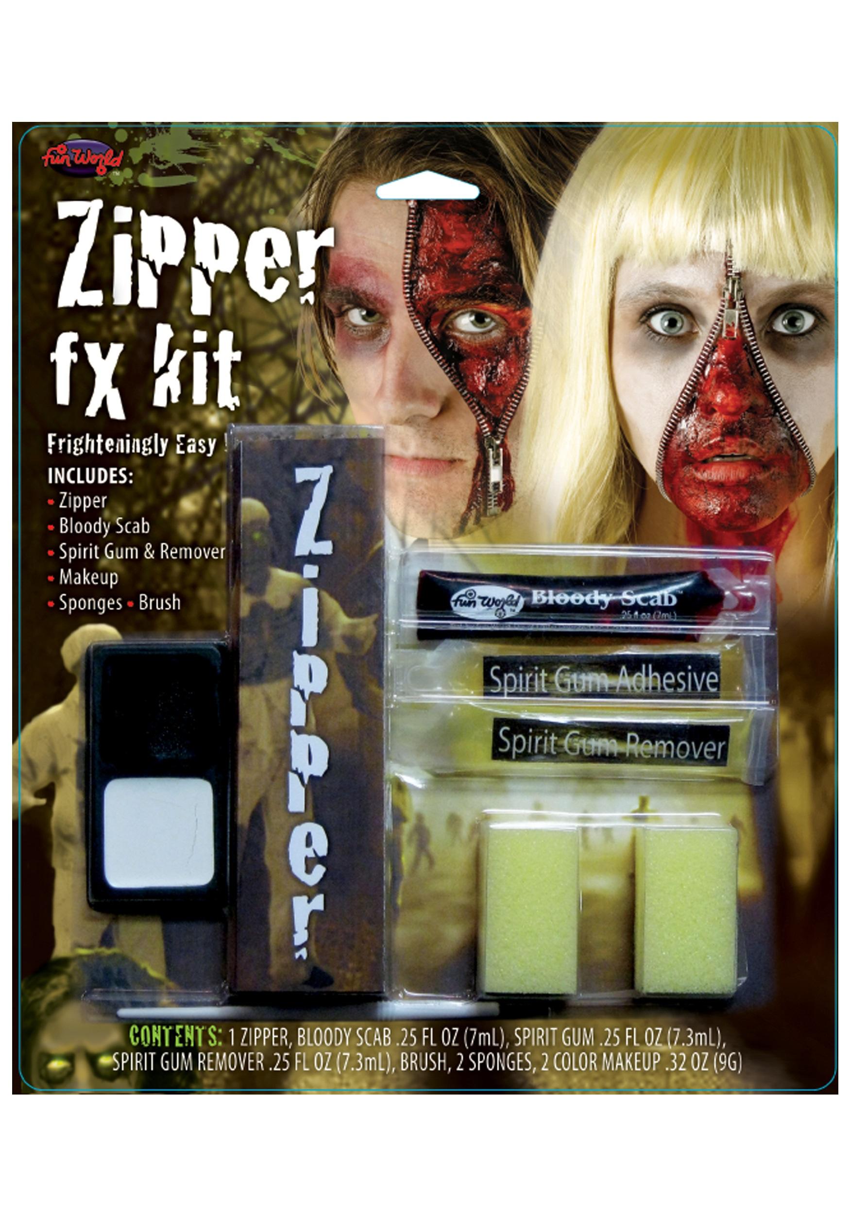 Fun World Zipper FX Makeup Kit