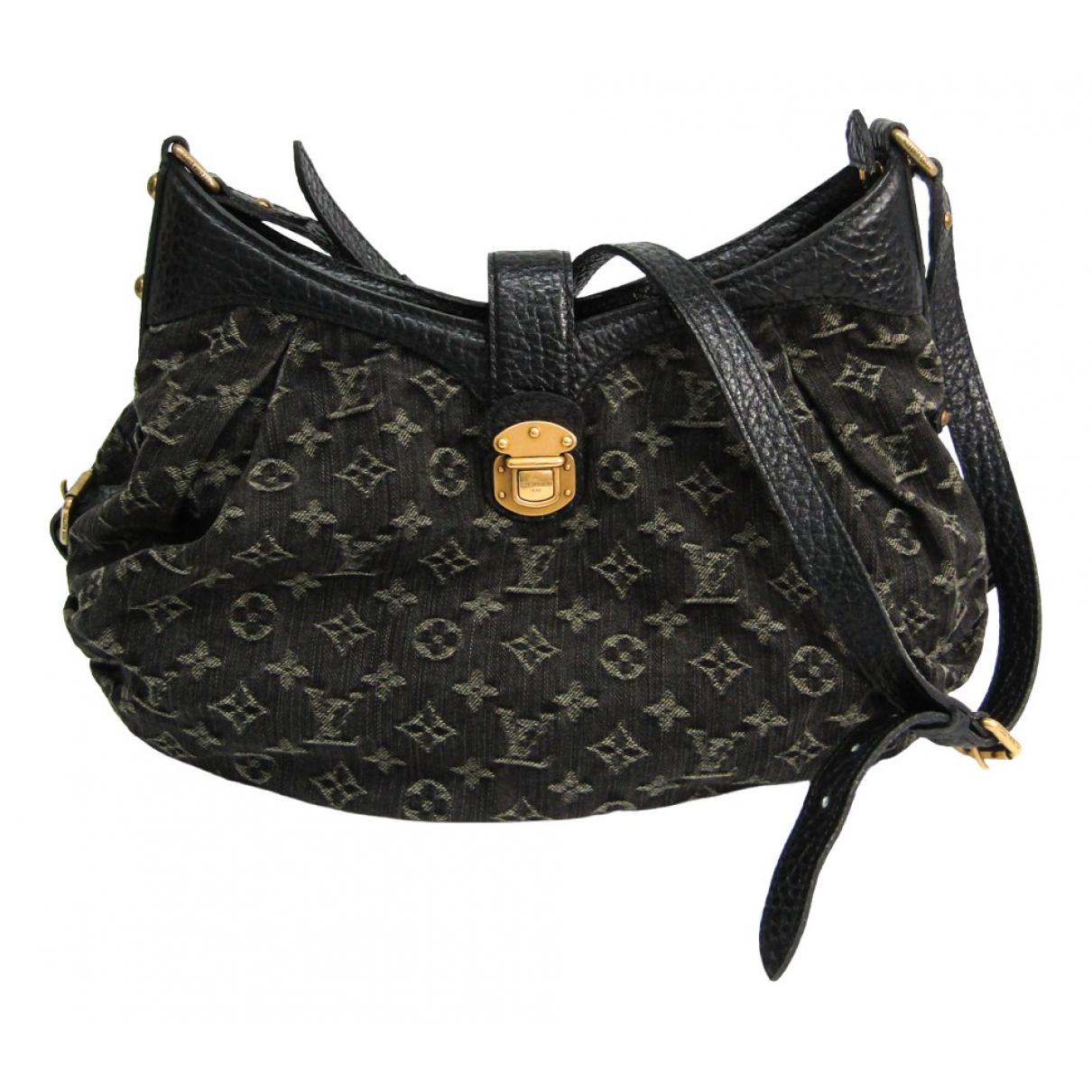 Louis Vuitton Idylle Black Denim - Jeans handbag for Women \N