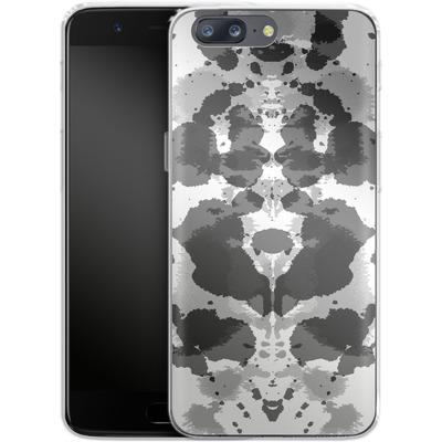 OnePlus 5 Silikon Handyhuelle - Mind Games Black von caseable Designs
